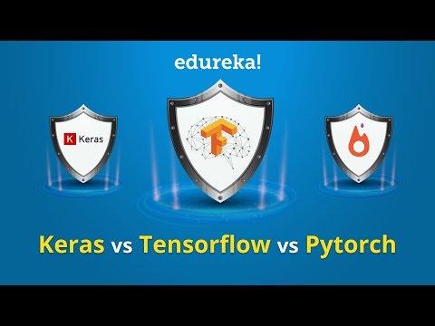 Keras vs Tensorflow vs PyTorch | Deep Learning Frameworks Comparison | Edureka