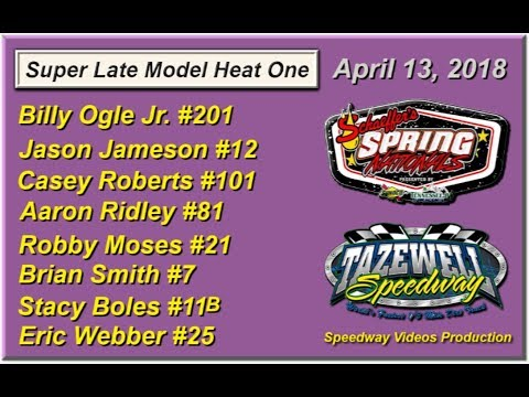 Spring Nationals Heat One @ Tazewell Speedway April 13, 2018
