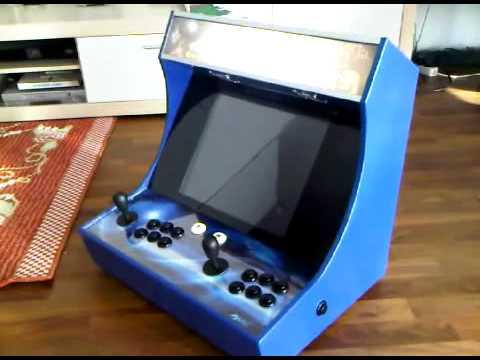 Bartop Arcade Machine Mame Youtube