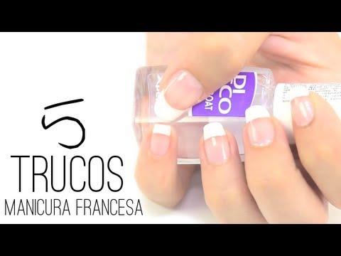 5 ideas muy fciles para realizar una manicura francesa en casa youtube - Manicura Francesa Facil