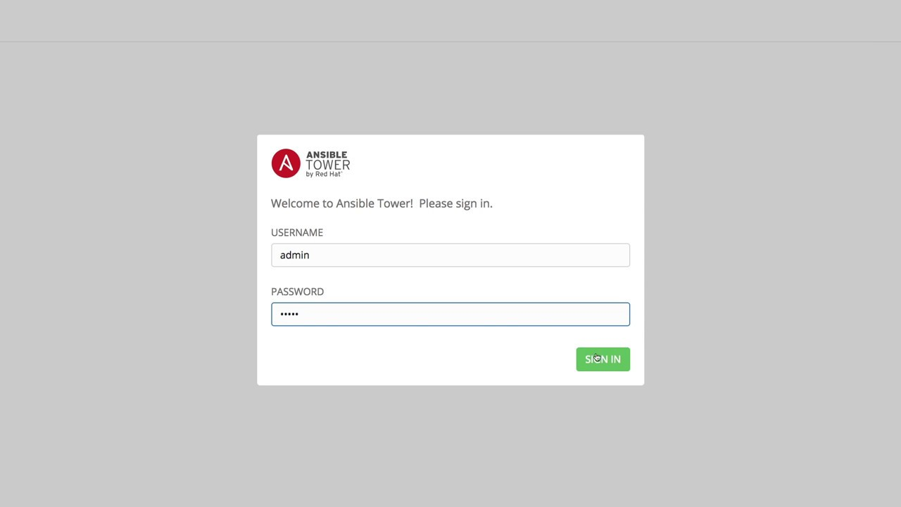 ansible tower create organization assign users