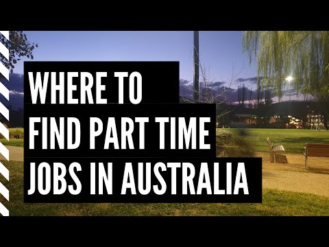 Where To Find Part-time Jobs In Australia