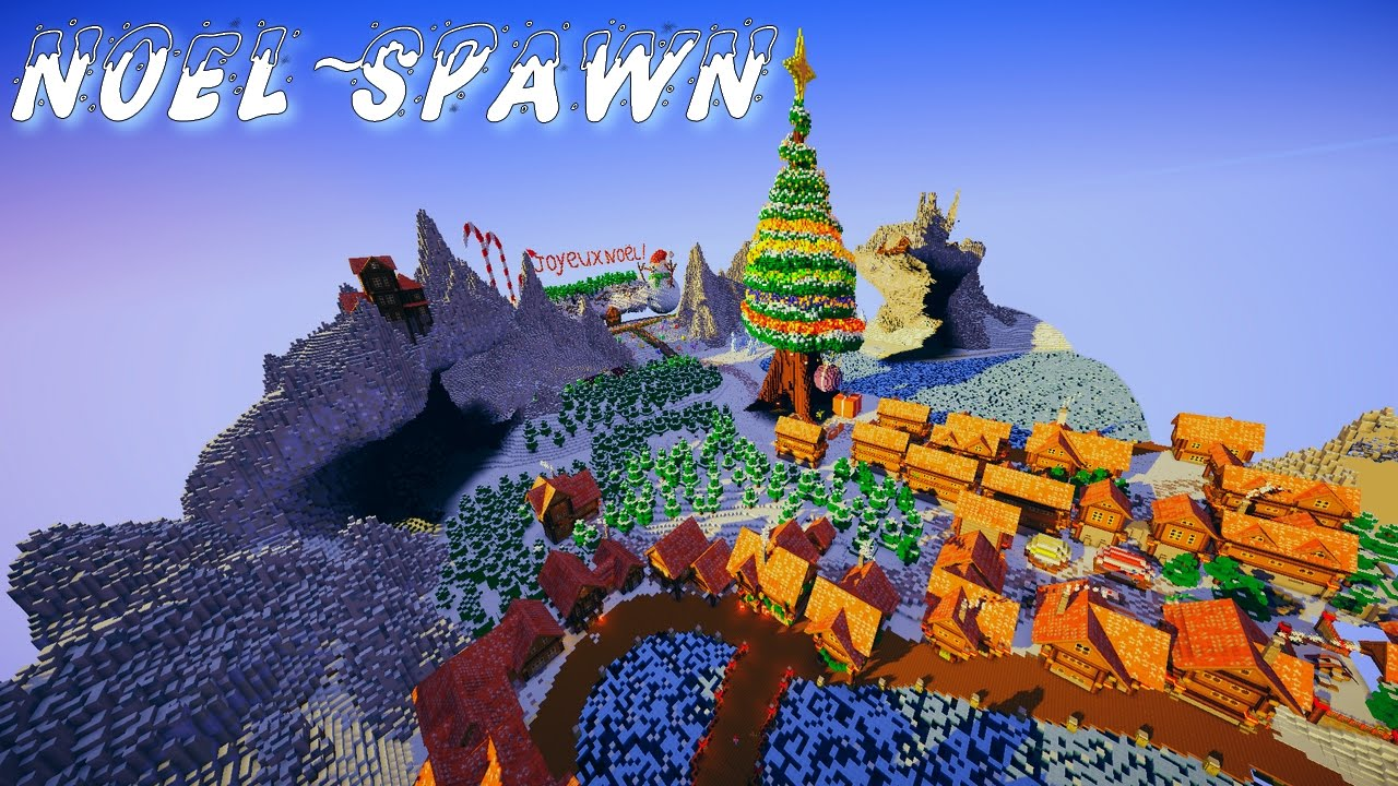 minecraft noel Minecraft Cinematic   MAP SPAWN: