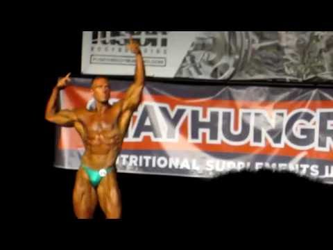 Adrian Veinot 2013 Light heavyweight Bodybuilding Posing Routine – Santana Anderson ECC