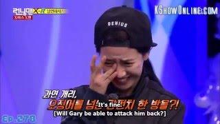 [ENG SUB] Full HD Running Man HaHa vs Gary Of Course Game