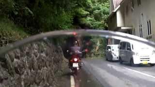 Ducati Monster 1100 静岡県道389号水窪森線(静岡県)