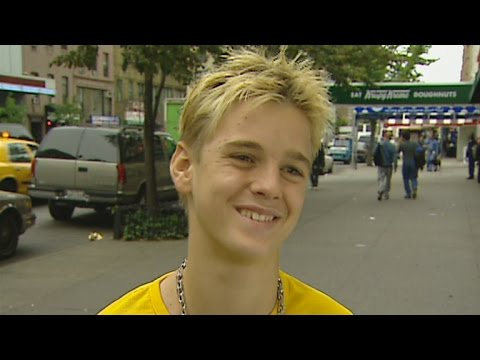 Flashback: 12-Year-Old Aaron Carter Wanted to be a Marine Biologist