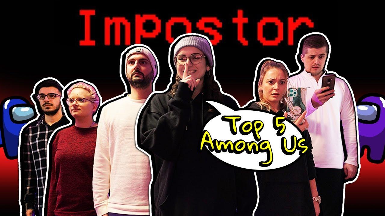 TOP 5 AMONG US IN REAL LIFE! Wer ist der beste Impostor? XXL Video Spiel mit mir