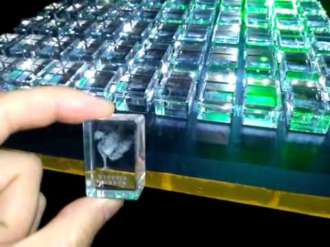 how the beautiful little crystal cubes made