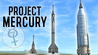 KSP: Full PROJECT MERCURY Recreation! Space Race Speedrun