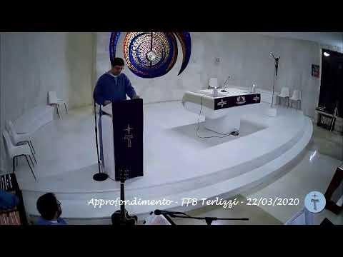 S.Rosario, Vespri e approfondimento - 22/03/2020 FFB Terlizzi