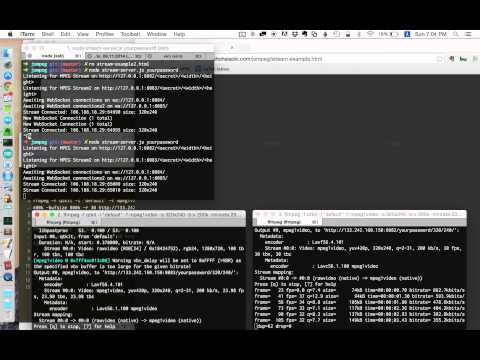 Multi point video streaming with NAT traversal
