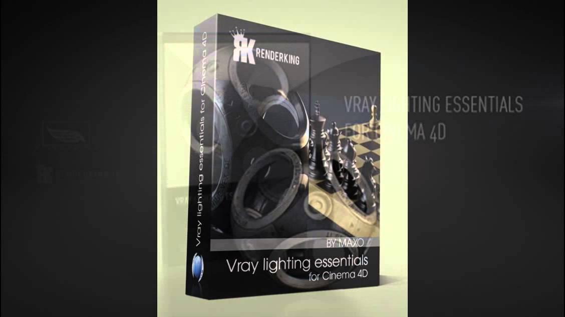 Renderking - Vray Lighting Essentials for Cinema 4D Free Download