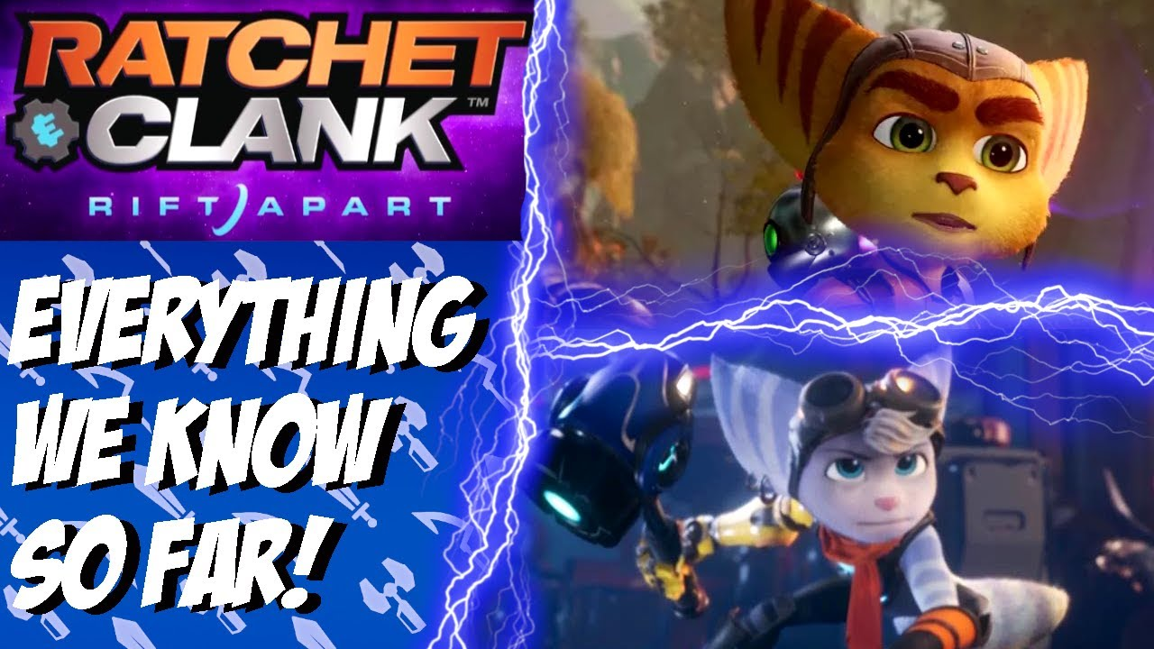 Ratchet Clank Rift Apart Announced For Ps5 Trailer Gameplay