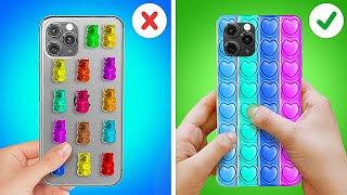 POP IT PHONE CASE IDEAS! Trendy TikTok DIYs and Hacks