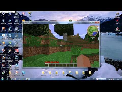 minecraft สอนลง mod สวรรค์