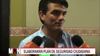 02-09-2015/19:37/ELABORARÁN PLAN DE SEGURIDAD CIUDADANA