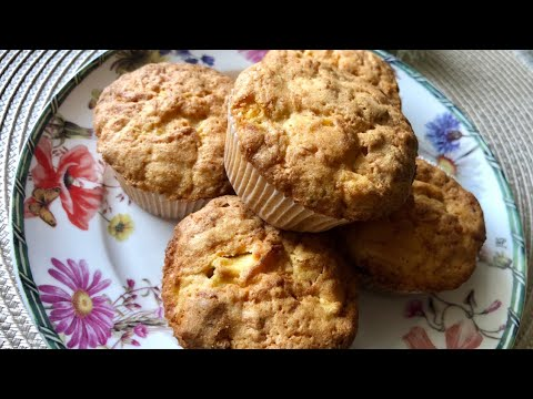 Carrot Cake Muffins with Apple Episode 438 Baking with Eda