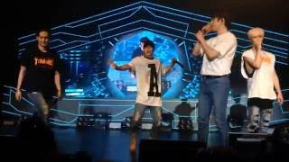 fancam got7 fly in nyc   jackson junior mark youngjae jb american dance