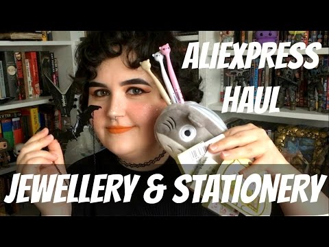 ALIEXPRESS HAUL: JEWELLERY & STATIONERY