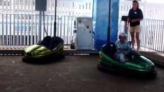 Mini Bumper Cars at Gillian