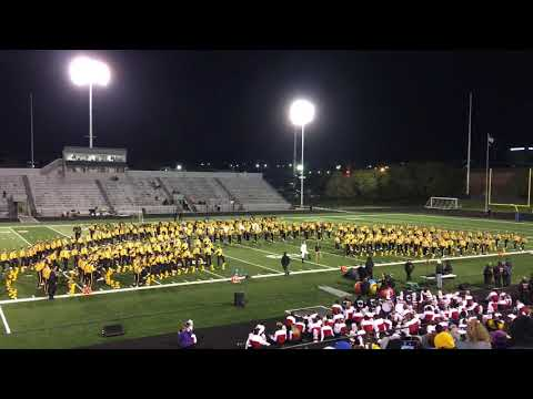 Mark Manuel - Iowa Hawkeye Marching Band At Brady Street Stadium - WATCH