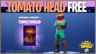 *NEW* Fortnite: HOW TO GET TOMATO HEAD SKIN FOR FREE! | (Battle Royale)