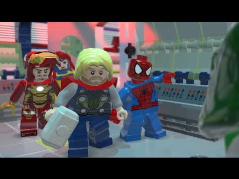LEGO: Marvel Superheroes - Chapter 10: That Sinking Feeling (Thor, Iron Man, Spider-Man, Jean Grey)