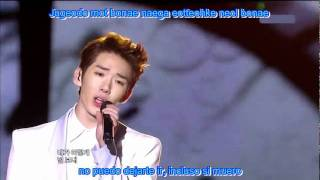 2am  Live - Can't Let You Go Even If I Die Sub Español + Romanizacion