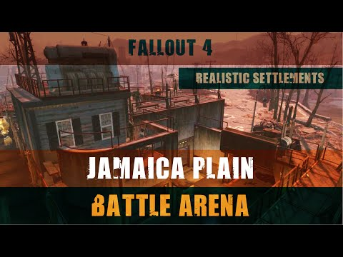 Fallout 4: Realistic Settlements - Jamaica Plain (Wasteland Workshop)