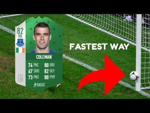 Fastest Way To Complete Luck Of The Irish FIFA 18 Weekly Objective!!