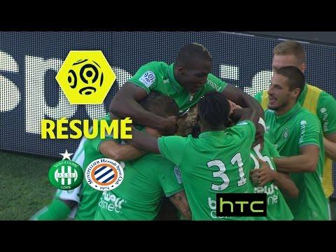 AS Saint-Etienne - Montpellier Hérault SC (3-1)  - Résumé - (ASSE - MHSC) / 2016-17