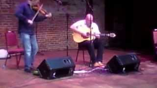 Aidan Burke awesome fiddle performance w Phillip Masure on