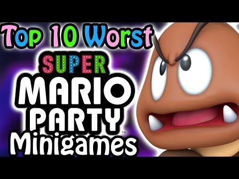 Top 10 Worst Super Mario Party Minigames