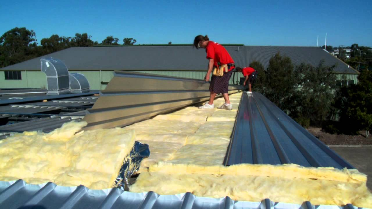 Stratco Roofcap Steel Roofing Batten Install A New Roof