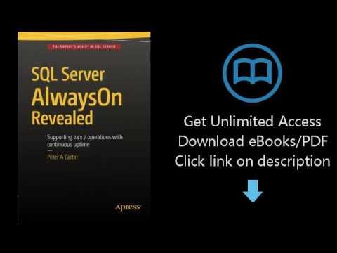 Download SQL Server AlwaysOn Revealed PDF