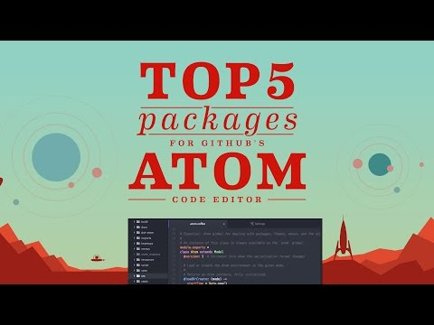 Top 5 Packages: Atom Code Editor