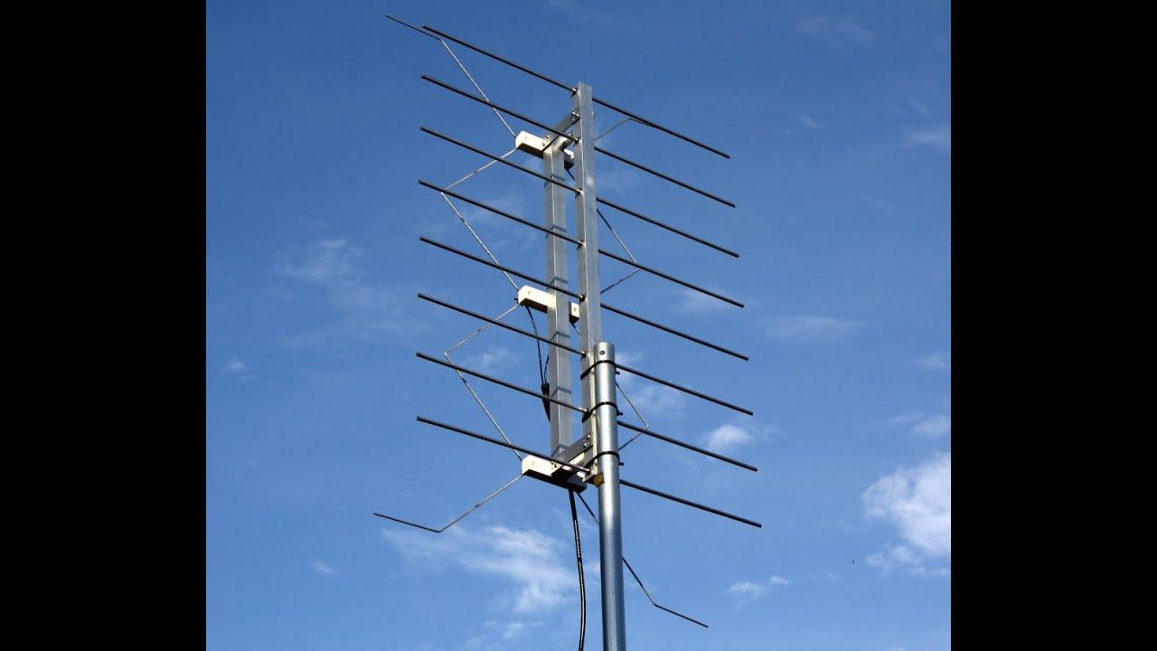 homemade gray hoverman tv antenna youtube