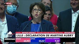 Martine Aubry : Sa Déclaration