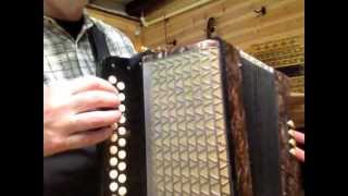 Hohner Pre Corso Button Accordion BbEb #89 (sold)