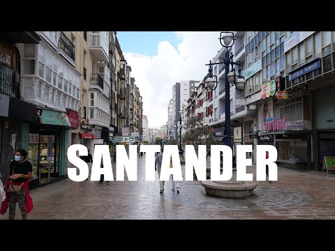 Santander, Cantabria, Spain - 4K UHD - Virtual Trip