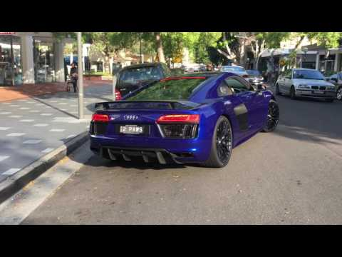 Audi R8 V10 Plus - Start Up, Revs And Acceleration
