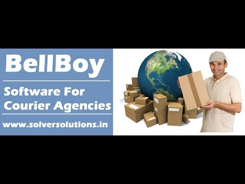 Bell Boy :  ERP Software For Courier Agencies by www.solversolutions.in