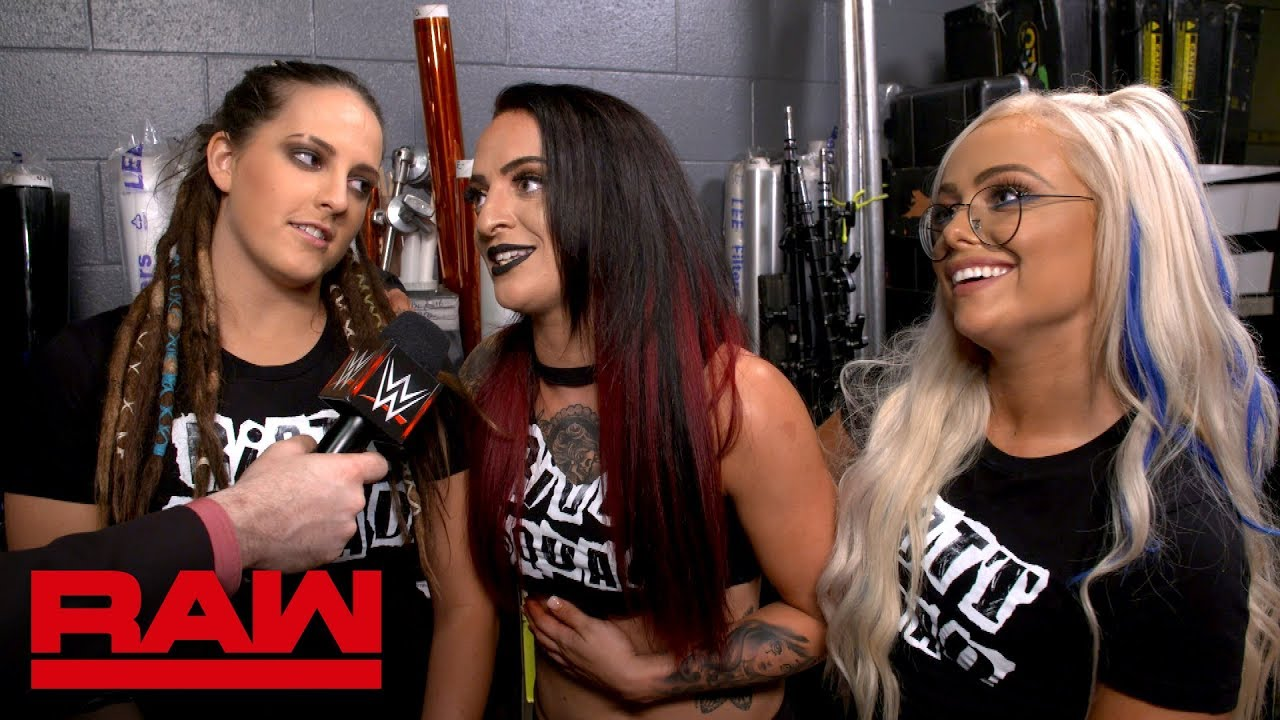 The Riott Squad welcome The Bella Twins to