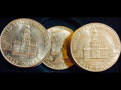 1776- 1976 Kennedy Half Dollars