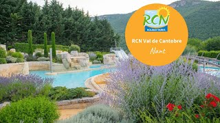 RCN Val de Cantobre campsite in Aveyron