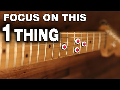 Want Happier More Fulfilling Guitar Playing - Focus on this 1 Thing