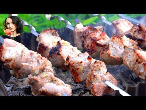 Самый вкусный шашлык из свинины | Кулинарим с Таней