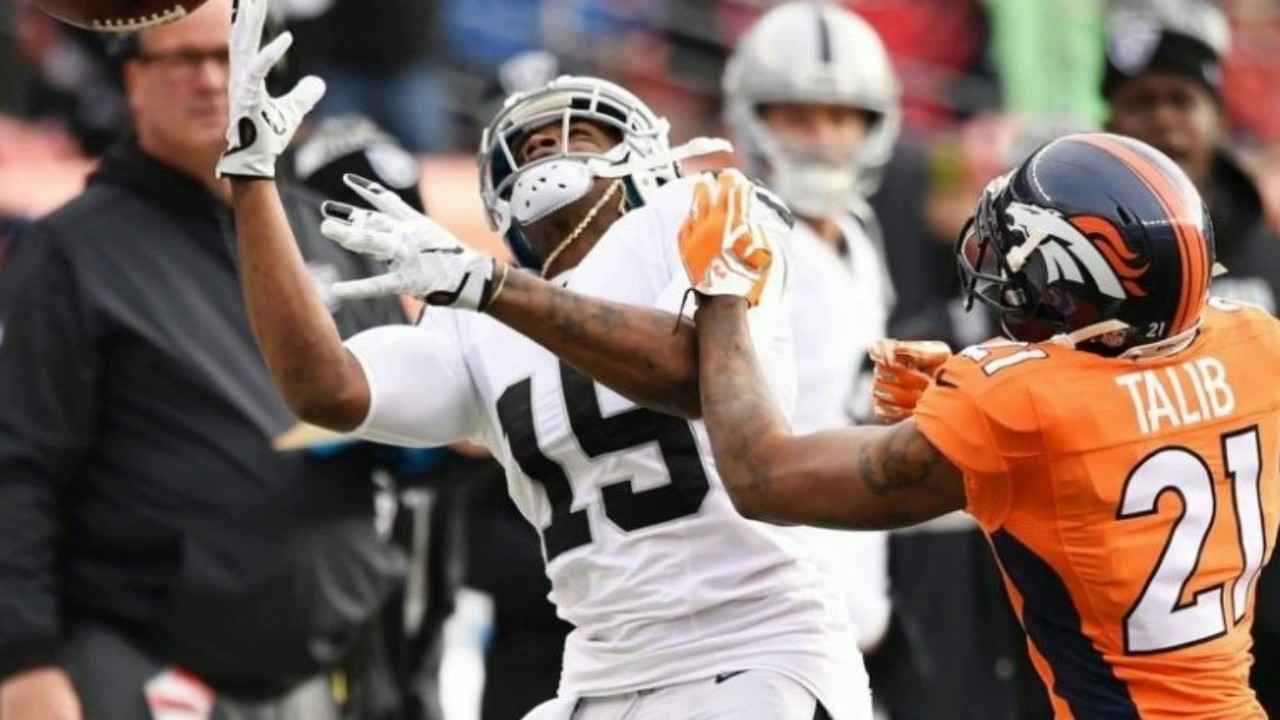 Aqib Talib SNATCHES Chain f Michael Crabtree And Jokes About