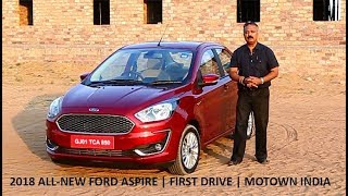 2018 Ford Aspire | First Drive Review | Motown India